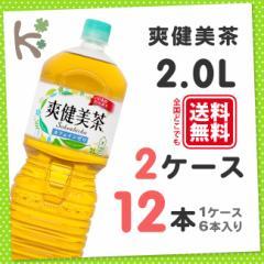 【kilakila*キラキラ】【2ケースセット】爽健美茶  ペコらくボトル 2LPET (1ケース 6本入り×2) 12本 お茶 そうけんびちゃ ペットボトル