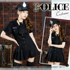 【送料無料】 ポリス服 ハロウィン コスプレ 婦警 ポリス 衣装 コスチューム  仮装 婦人警官 婦警 警官  [shen-police2]
