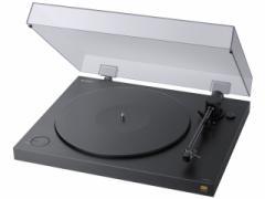 ソニー ハイレゾフォーマットでPCに録音・保存できるステレオレコードプレーヤー  PS-HX500