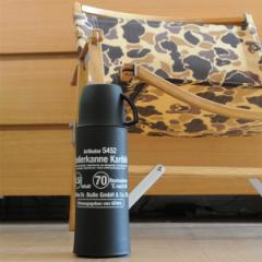 ヘリオス カリビック×ジェニアル 500ml 保温性の高いメンズライクな水筒 魔法瓶 /  コップ付 ドイツ ブランド 人気