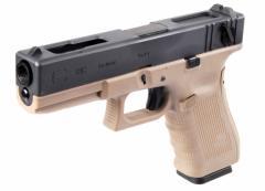 We-Tech Glock18C Gen.4 ガスブローバック TAN(WEGB18TAN)