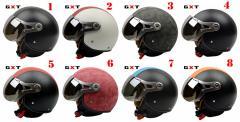 バイクヘルメット  ジェット 男女共用ヘルメット  春、夏、秋、冬 PSC付き GXT-288  送料無料