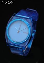 ニクソン 時計 腕時計 ユニセックス TIME TELLER P A119-1781 TRANSLUCENT BLUE クリアブルー NIXON