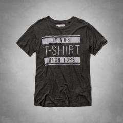 アバクロ レディース Tシャツ 正規 157-1110-013grey 半袖 クルーネック abercrombie & fitch