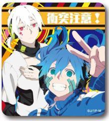 送料無料!TVアニメ メカクシティアクターズ◆カーステッカー◆A衝突注意◆新品◆