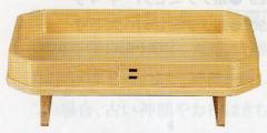 神道専科:神具(内祭用) NO..283 ●長三宝 8寸x6寸 (ひのき) 税抜¥4000円