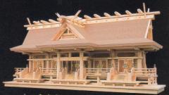 神道専科:神棚(内祭)極上 母屋神明 造り 五社 屋久杉: (受注生産)納期:都度照会