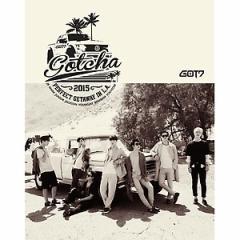 韓国スター写真集 ガッセブン - GOT7「GOTCHA」PERFECT GETAWAY IN L.A. (2NDフォトブック+フォトはがき8種)+初回限定卓上用等身大