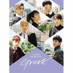 (日本版)INFINITE(インフィニット)のドギュメンタリー映画「GROW:INFINITEリアル青春ライフ」Blu-ray+DVD(発売日:2015.08.19以後)