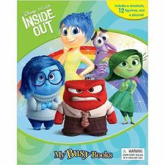 (英語版)海外書籍 「Disney/Pixar Inside Out:My Busy Books(インサイド・ヘッド マイ ビジーブック)」 (本+ミニフィギュア12種)