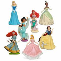 (先払いのみ) 海外グッズ ディズニー フィギュア ディズニープリンセス Figure Play Set1 おもちゃ 人形 ドール 並行輸入品
