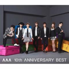 (日本版)AAA(トリプル・エー)ベスト+オリジナルアルバム -「AAA 10th ANNIVERSARY BEST」(2CD)(発売日:15.09.16以後)