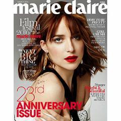 韓国女性雑誌 marie claire(マリ・クレール)2016年 03月号 (Lovelyzのユ・ジエ&リュ・スジョン、GFRIENDのソウォン&シンビ記事)