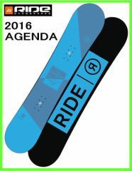 2016 RIDE AGENDA 147cm ライド スノーボード ローライズロッカー フリースタイルボード