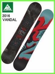 2016 K2 VANDAL137cm ケーツースノーボード ツインロッカー