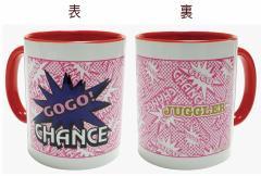 ジャグラー マグカップ Ver.3 [C柄 GOGO! ピンク柄] パチスロ キャラクター グッズ GOGO!CHANCE 北電子