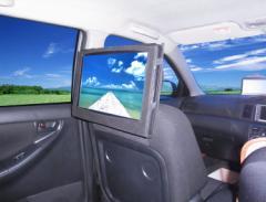 15.4インチ大画面ポータブルDVDプレーヤー 車載対応TDP-15K