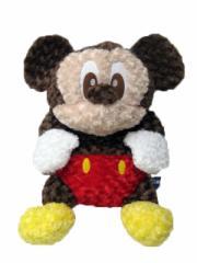 送料無料/ディズニー 全長約90cm ゆるカワぬいぐるみ【ミッキー】〜バラのお花のようなカールしたボア素材〜 バラボア