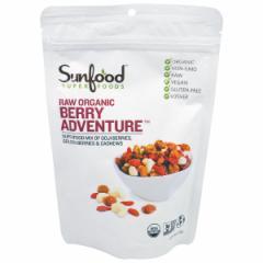 【お取り寄せ】Sunfood Mix Berry Adventure 6oz (170 g) サンフード ベリーアドベンチャー【安心のアメリカ正規品】送料無料!