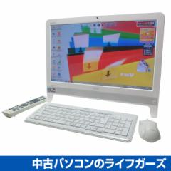 富士通 液晶一体型PC/Windows7/AMD E-450 APU 1.65GHz/RAM4GB/HDD1TB/DVDマルチ/20型ワイド/無線LAN/地デジ/FMV EH30/GT 中古PC 1923