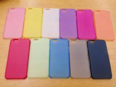 失効ポイント対策に!『iPhone6  / iPhone6 Plus カラー ケース 選べる11色2サイズ』送料込300円