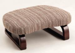 『正座用座椅子C-III(完成品) ストライプブラウン』パール金属 N-8062 イス