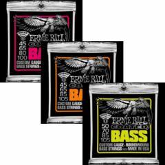 ERNIE BALL/コーテッドベース弦 Coated Slinky Bass #3832,#3833,#3834 【アーニーボール】