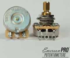"EMERSON Custom/PRO CTS - 500K SHORT (3/8"") SPLIT SHAFT POTENTIOMETER【エマーソンカスタム/ポット】"