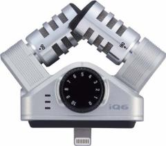 ZOOM/IQ6 Professional Stereo Microphone / iPhone / iPad 用の高品質なステレオコンデンサマイク【ズーム】