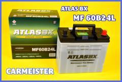 ATLAS 60B24L アトラス 国産車用 バッテリー