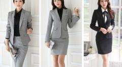 レディース フォーマルスーツ事務服パンツスーツ弁護士一つボタン通勤OL ビジネス ジャケット+ズボンorショートスカート2点setテーラード