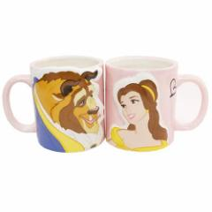 ◆美女と野獣 ペアマグ2個セット/KISS(ディズニー)マグカップ おしゃれ コップ マグ 食器ペアー
