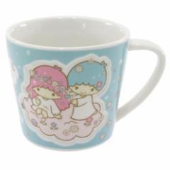 ◆リトルツインスターズ/キキ&ララ[マグカップ]エンボスマグカップ