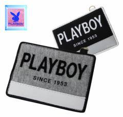 【PLAY BOY】プレイボーイスタンプワークパスケース(定期入れ)