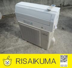 MA122▽富士通 ルームエアコン 2013年 2.2kw 〜8畳 自動掃除