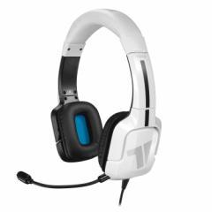 【即納可能】【新品】TRITTON Kama Stereo Headset White (PS4/PS Vita/Mobile) [MAD CATZ]【国内正規流通版】【送料無料】