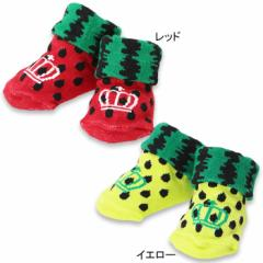 NEW♪ベビーソックス/スイカ-雑貨 靴下 レッグウェア ベビーサイズ ベビードール 子供服-7354