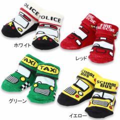 NEW♪ベビーソックス/くるま-雑貨 靴下 レッグウェア ベビーサイズ ベビードール 子供服-7347