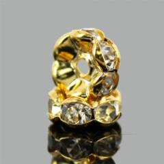 ロンデルパーツA ゴールド 4mm 100個 (検品なし)〔G3-141-4m100p〕