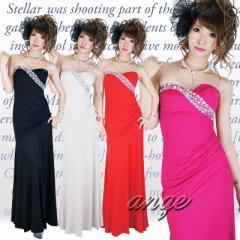 LD1209-927/キャバドレス/胸元ビジュセクシーロングドレス