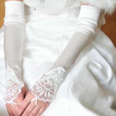 【即納】ウエディング用品 グローブ 1点セット ロンググローブ 手袋 アクセサリー 結婚式