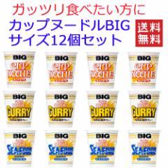 日清食品 カップヌードル big ビッグ 3柄×4個 12食セット 送料無料