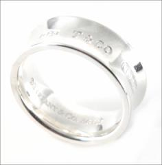 【TIFFANY&CO】ティファニー 1837 ミディアム リング指輪 SS スターリングシルバー28686528