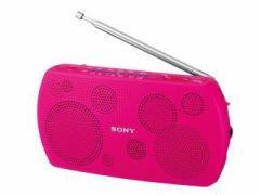 SONY FMステレオ/AMステレオポータブルラジオ  SRF-18-P