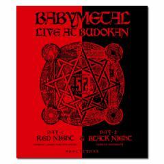 【送料無料】 BABYMETAL / LIVE AT BUDOKAN 〜RED NIGHT & BLACK NIGHT APOCALYPSE〜(Blu-ray) 通常盤