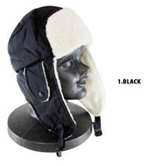 耳当て付き帽子 メンズ レディース ボア ケーバ帽子 ケーバ 帽子 帽 耳当て 耳当て付き 防寒 冬 スキー スノボ スノーボード ボード