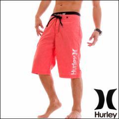 HURLEY サーフパンツ メンズ 水着 トランクス 海パン HEATHRED ONE & ONLY 22インチ ロング丈 トレーニング ジム フィットネス レッド