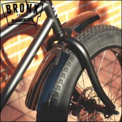 """ファットバイク BRONX """"マッドガード"""" フェンダー フロント 樹脂 ブロンクス"""