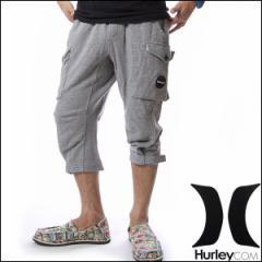 HURLEY ハーレー メンズ 7分丈 スウェットパンツ カーゴパンツ