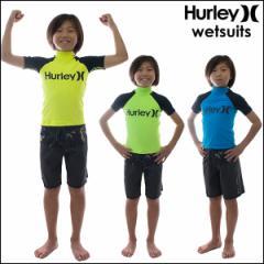 HURLEY/ハーレー キッズ 半袖 ラッシュガード ONE & ONLY S/S KIDS RASHGUARD 子供用 マリンスポーツ